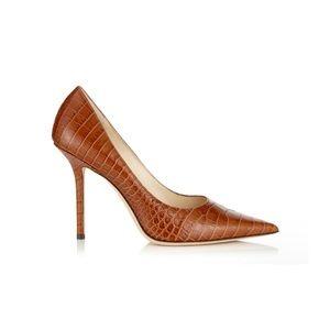 Delman Brown Stiletto Heel Size 8
